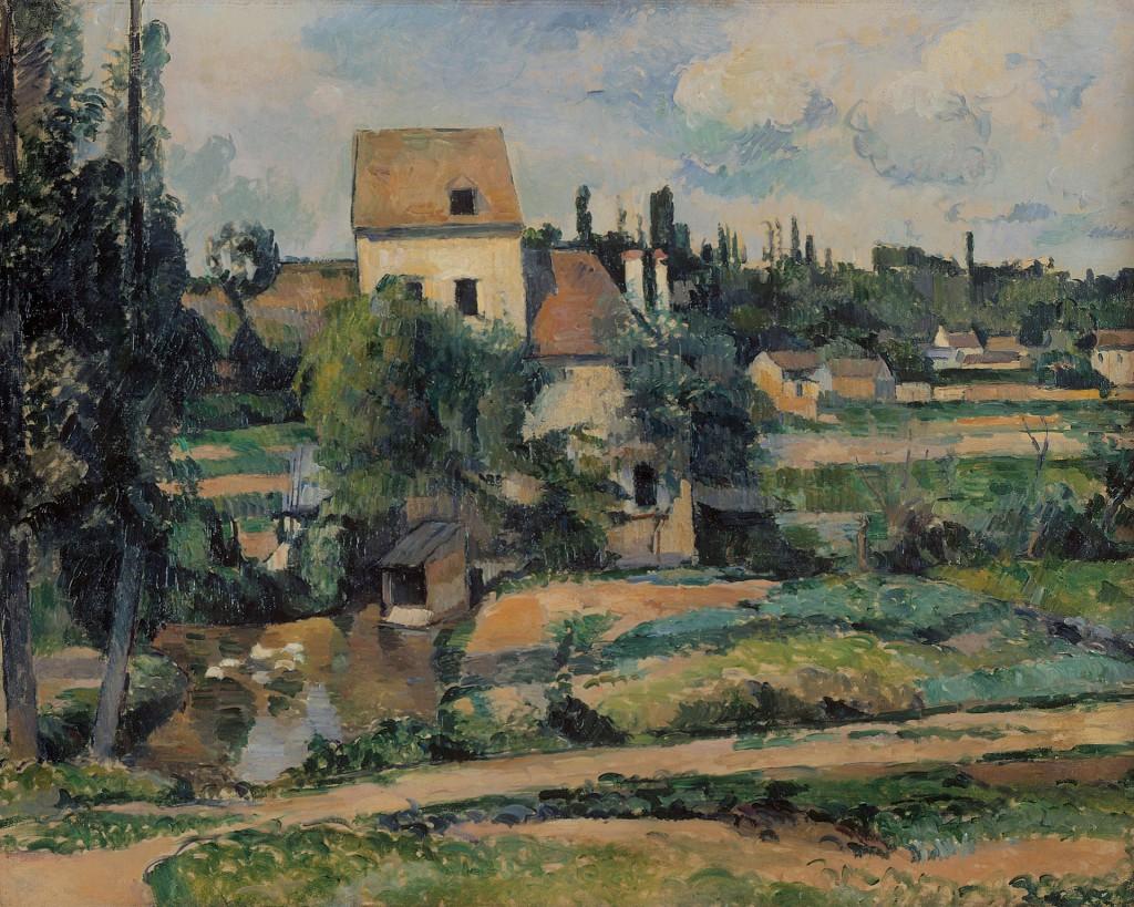 Paul_Cézanne_-_Le_moulin_sur_la_Couleuvre_à_Pontoise