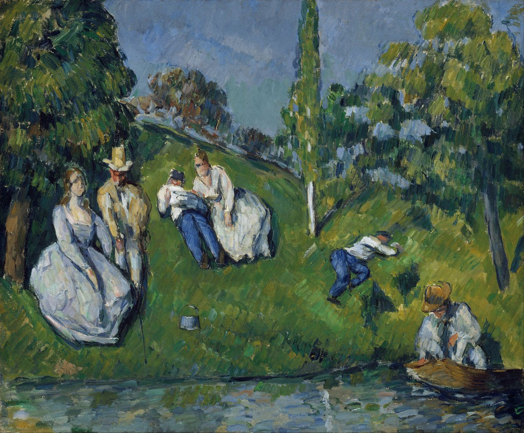 Paul_Cézanne_-_The_Pond