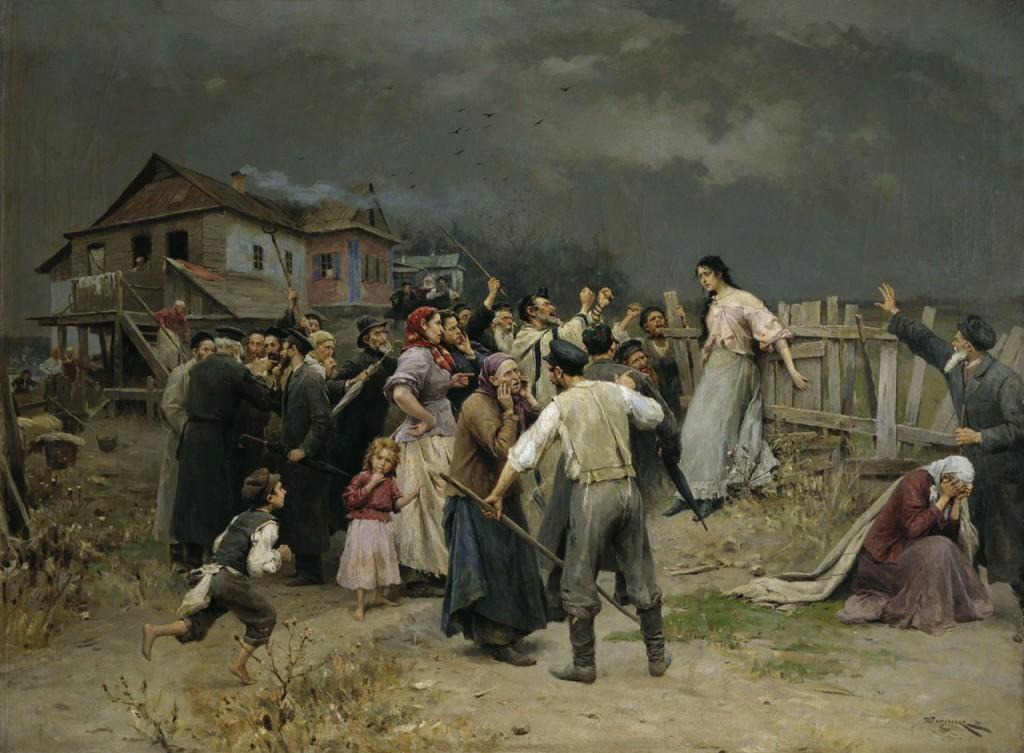 Пимоненко Жертва фанатизма