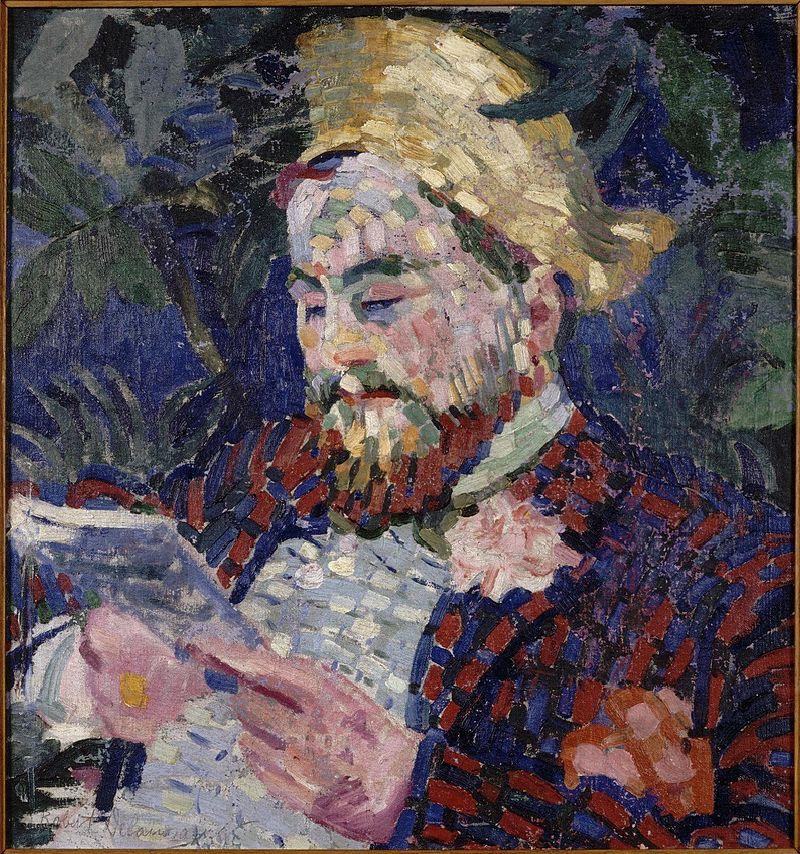 Robert_Delaunay_-_Portrait_d'Henri_Carlier