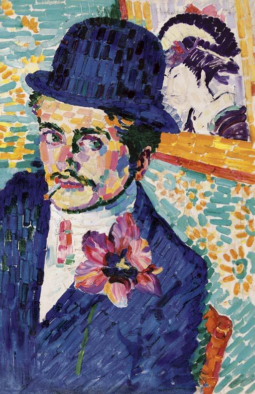 Robert_Delaunay_L'homme_à_la_tulipe